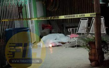Falleció empleado de una gasera en el patio de su casa